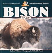 Cover of: Bison for kids