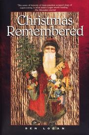 Cover of: Christmas remembered