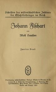 Cover of: Johann Fischart