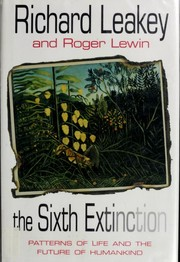 Cover of: The sixth extinction