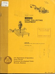Cover of: Evaluation of cone collecting equipment | John G. Tietz