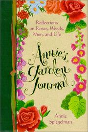 Cover of: Annie's garden journal
