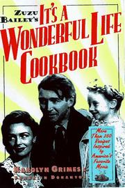Cover of: Zuzu Bailey's It's A Wonderful Life Cookbook