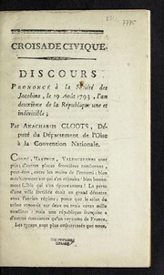 Cover of: Croisade civique