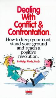 Cover of: Dealing with Conflict and Confrontation