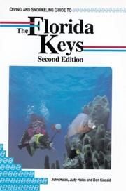 Diving and snorkeling guide to the Florida Keys by John Halas