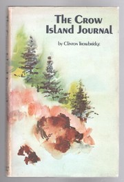 Cover of: The Crow Island journal. | Clinton Trowbridge