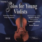 Cover of: Solos for Young Violists Volume 1 [sound recording] |