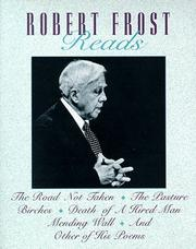 Cover of: Robert Frost Reads