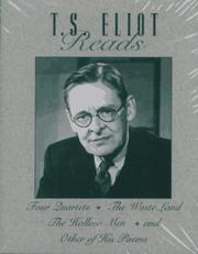 Cover of: T.S. Eliot Reads: Four Quartets, the Waste Land, the Hollow Men, and Other of His Poems/Audio Cassettes (The Great Voices of the 20th Century)