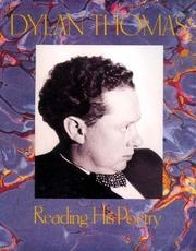 Cover of: Dylan Thomas Reading His Poetry