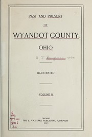 Cover of: Past and present of Wyandot County, Ohio