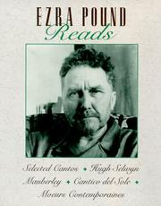 Cover of: Ezra Pound Reads Selected Cantos/High Selwyn/Mauberley/Cantico Del Sole/Moeurs Contemporaines |