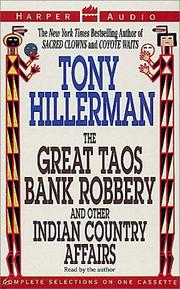 Cover of: The Great Taos Bank Robbery: and other Indian country affairs