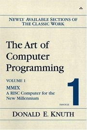 Cover of: The  art of computer programming | Donald Knuth