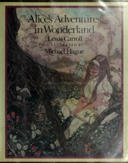 Cover of: Alice's adventures in Wonderland | Lewis Carroll