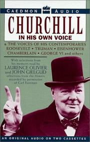 Cover of: Churchill in His Own Voice