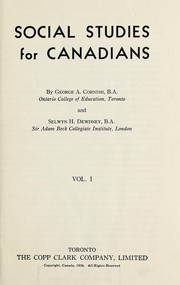 Cover of: Social studies for Canadians | George A. Cornish