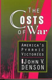 Cover of: The Costs of War | John Denson