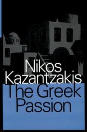 Cover of: The Greek passion