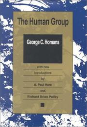 Cover of: The human group