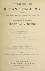 Cover of: A text-book of human physiology