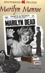 Cover of: Marilyn Monroe