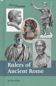 Cover of: Rulers of Ancient Rome | Don Nardo