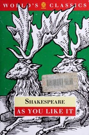 Cover of: As you like it | William Shakespeare