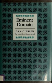 Cover of: Eminent domain | Dan O'Brien