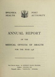 Cover of: [Report 1948] | Swansea (Wales). Port Health Authority