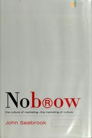 Cover of: NoBrow | John Seabrook