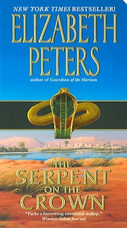 Cover of: The serpent on the crown | Elizabeth Peters