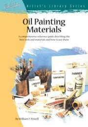 Cover of: Oil Painting Materials