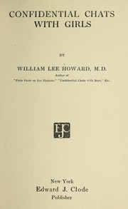 Cover of: Confidential chats with girls | Howard, William Lee