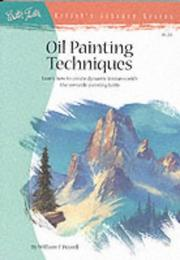 Cover of: Oil Painting Techniques by William F. Powell