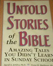 Cover of: Untold stories of the Bible by David Arthur DeSilva