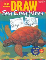 Cover of: I Can Draw Sea Creatures (I Can Draw Series)