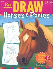 Cover of: I Can Draw Horses & Ponies (I Can Draw)