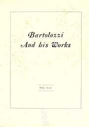 Cover of: Bartolozzi and his works