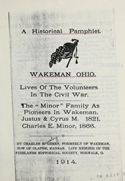 Cover of: A historical pamphlet, Wakeman, Ohio | Charles R. Green