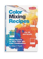 Cover of: Color Mixing Recipes