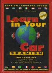 Cover of: Learn in Your Car - Spanish, 2 Level Set