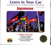 Cover of: Learn in Your Car Complete Language Course: Japanese