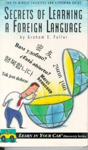 Cover of: Secrets of Learning a Foreign Language