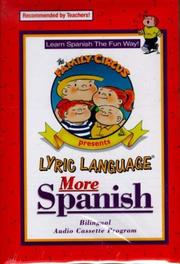 Cover of: More Spanish
