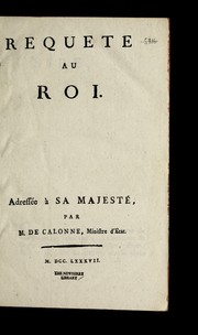 Cover of: Reque te au roi