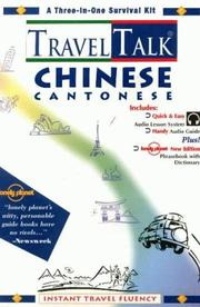 Cover of: Travel Talk Chinese Cantonese (Travel Talk)