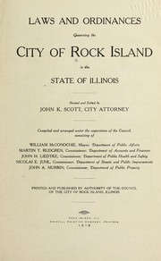 Cover of: Laws and ordinances | Rock Island, Ill