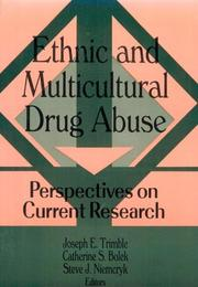 Cover of: Ethnic and Multicultural Drug Abuse |